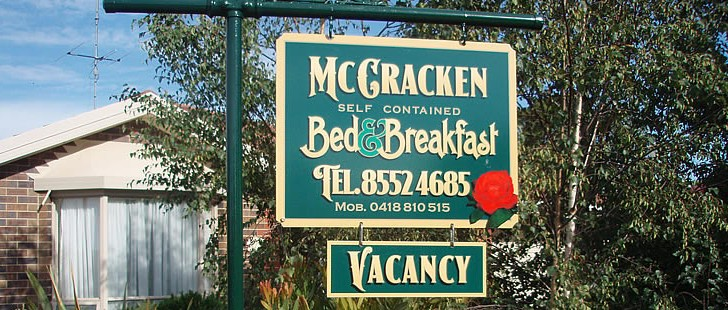 Mc Cracken Bed and Breakfast - Yarra Valley Accommodation