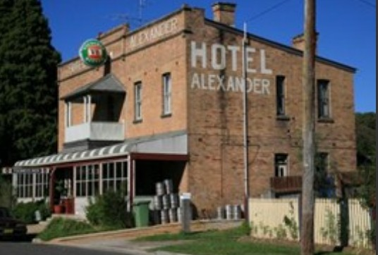 Alexander Hotel Rydal - Yarra Valley Accommodation