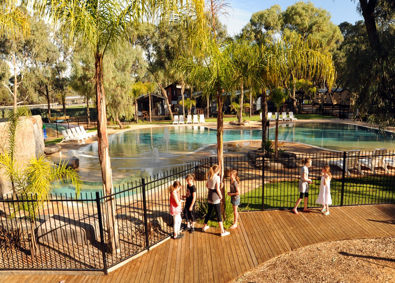 BIG4 Renmark Riverfront Caravan Park - Yarra Valley Accommodation