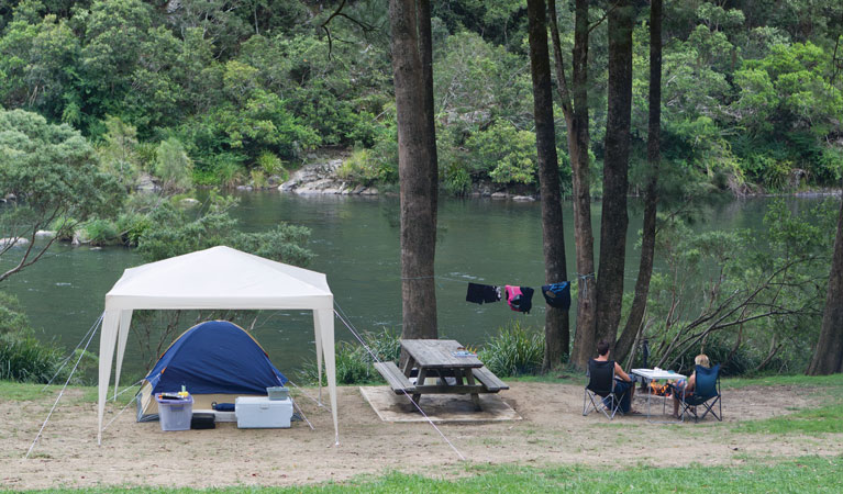 Platypus Flat campground - Yarra Valley Accommodation