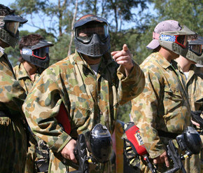 Action Paintball Games - Perth - Yarra Valley Accommodation