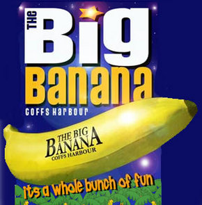 Big Banana - Yarra Valley Accommodation