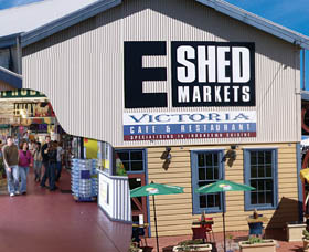 The E Shed Markets - Yarra Valley Accommodation