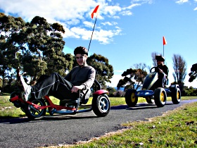 Pedal Buggies Tasmania - Yarra Valley Accommodation