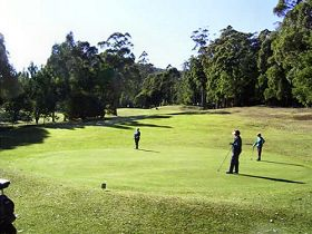 Sheffield Golf Course - Yarra Valley Accommodation