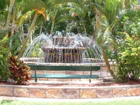 Bauer and Wiles Memorial Fountain - Yarra Valley Accommodation