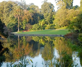 Royal Botanic Gardens Melbourne - Yarra Valley Accommodation