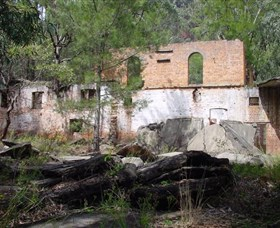 Newnes Shale Oil Ruins - Yarra Valley Accommodation
