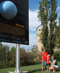 Worlds Largest Virtual Solar System Drive - Yarra Valley Accommodation