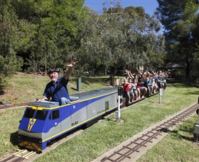 Willans Hill Miniature Railway - Yarra Valley Accommodation