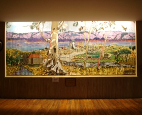 Adaminaby Memorial Hall Stage Curtain - Yarra Valley Accommodation