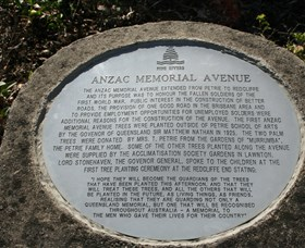 Anzac Memorial Avenue Redcliffe - Yarra Valley Accommodation
