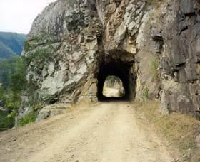 Old Glen Innes Road and the Historic Tunnel Grafton
