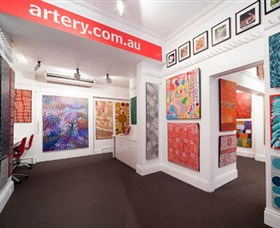 The Artery Aboriginal Art - Yarra Valley Accommodation