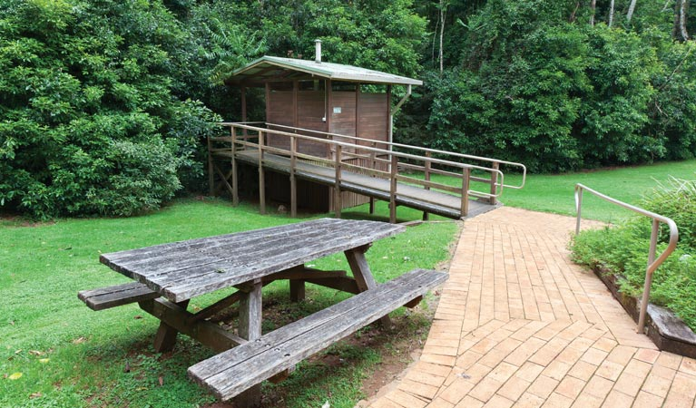 The Glade picnic area - Yarra Valley Accommodation