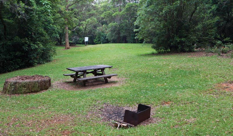 Never Never picnic area - Yarra Valley Accommodation