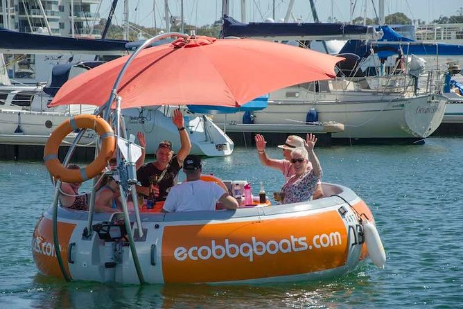 Self-Drive BBQ Boat Hire Mandurah - Group of 7 - 10 people - Yarra Valley Accommodation