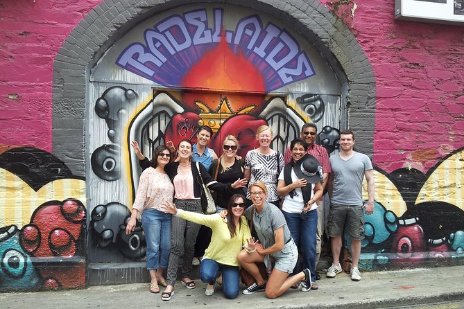 Adelaide City Food and Street Art Walking Tour