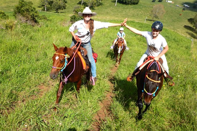 Country Day Ride from Mt Goomboorian with Rainbow Beach Horse Rides - Yarra Valley Accommodation