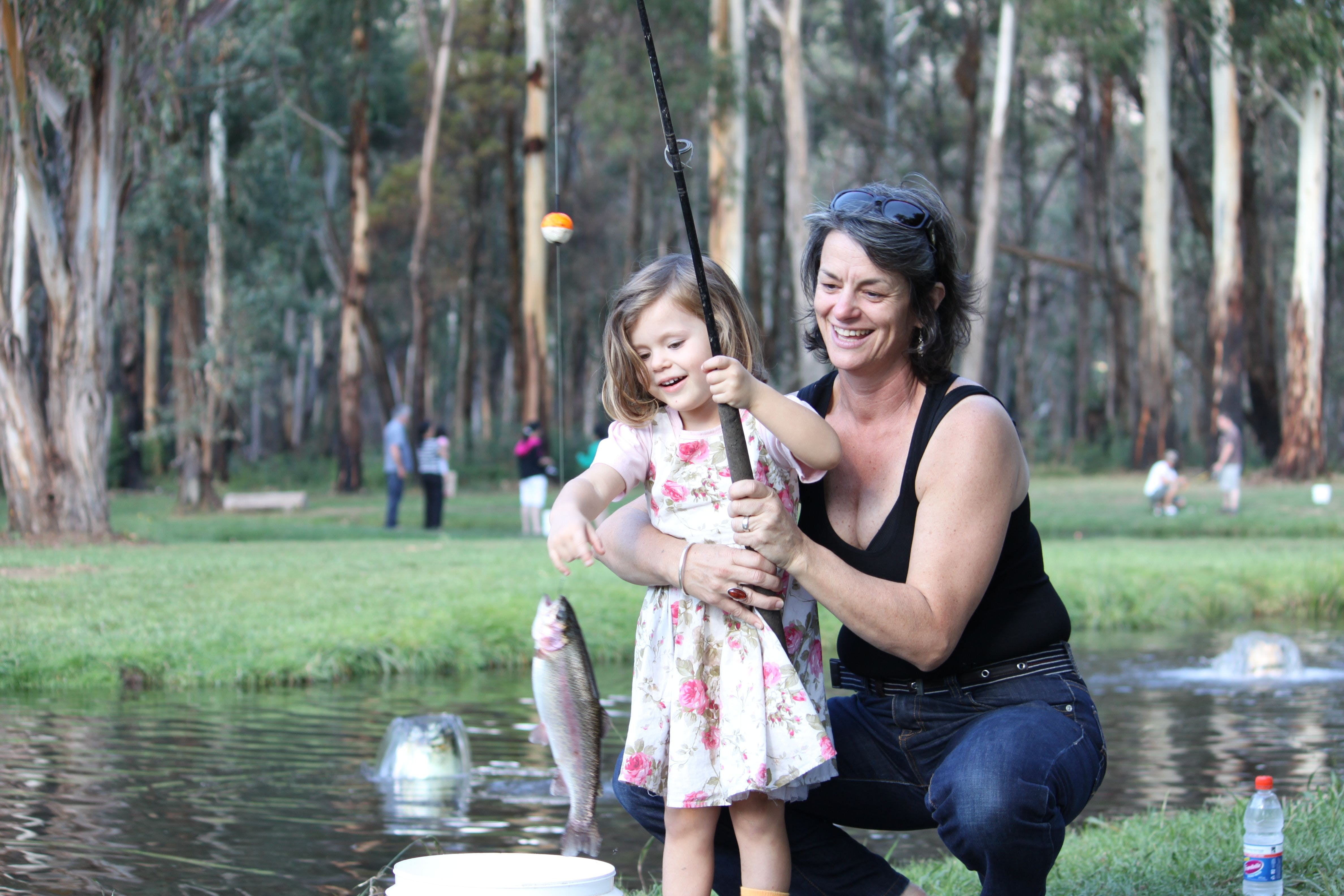 Buxton Trout and Salmon Farm - Yarra Valley Accommodation