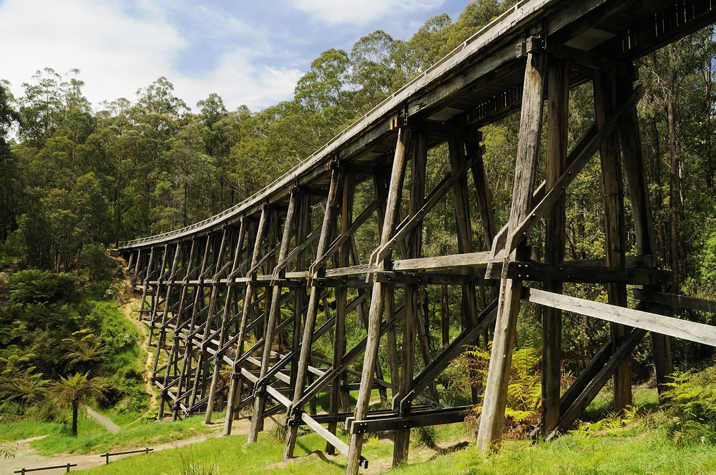 Noojee Trestle Bridge - Yarra Valley Accommodation