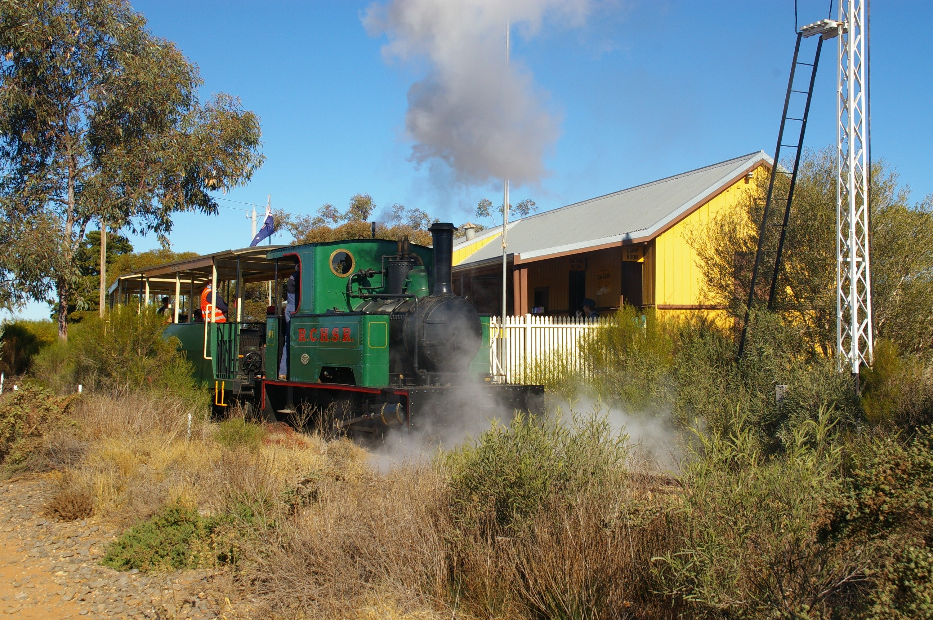 Red Cliffs Historical Steam Railway - Yarra Valley Accommodation