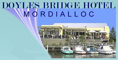 Doyles Bridge Hotel - Yarra Valley Accommodation