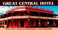 Great Central Hotel - Yarra Valley Accommodation