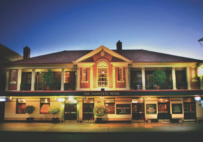 Tamworth Hotel - Yarra Valley Accommodation