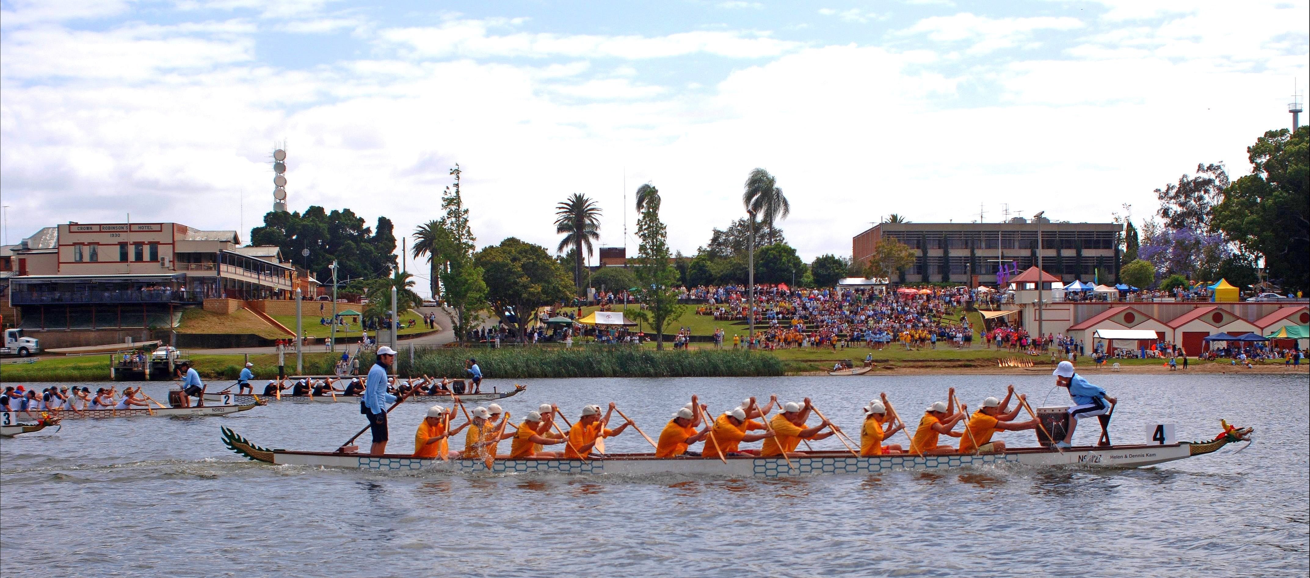 Jacaranda Dragon Boat Races - Yarra Valley Accommodation