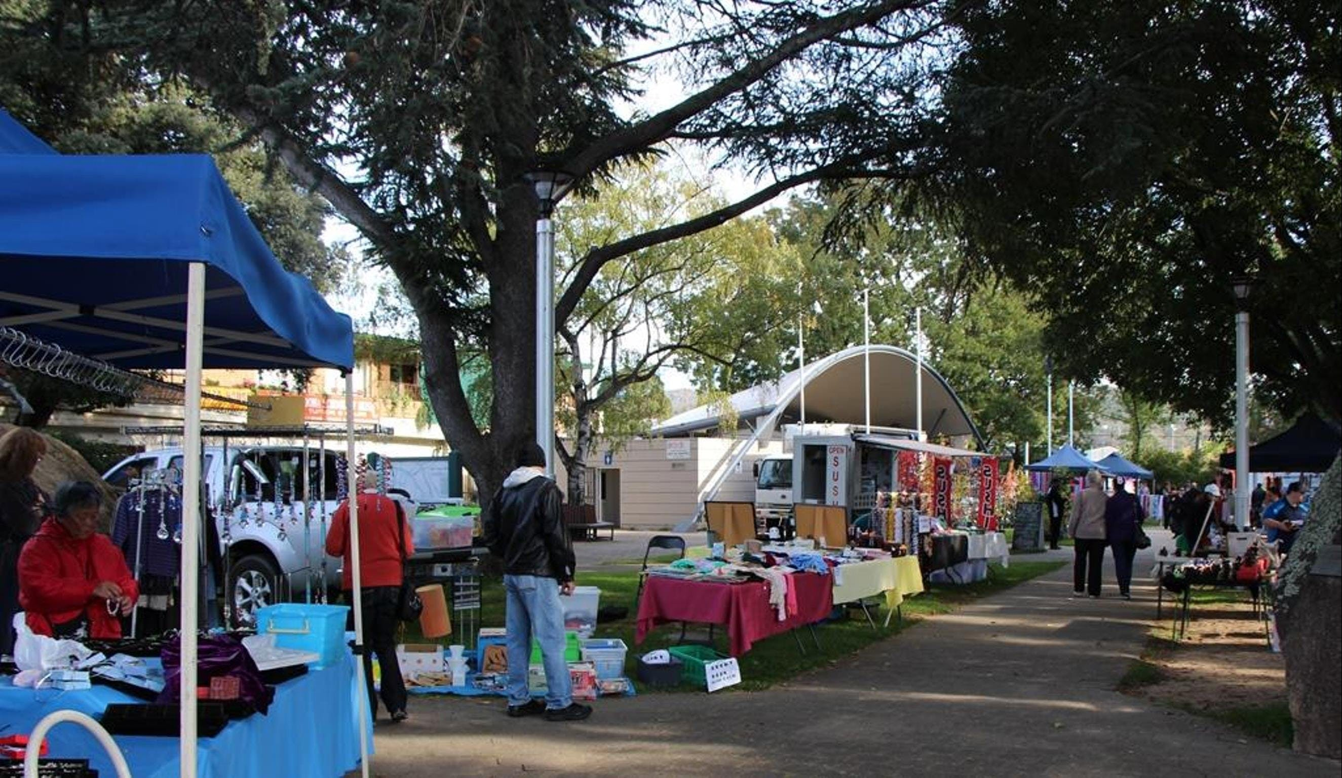 Cooma Rotary Markets - Yarra Valley Accommodation
