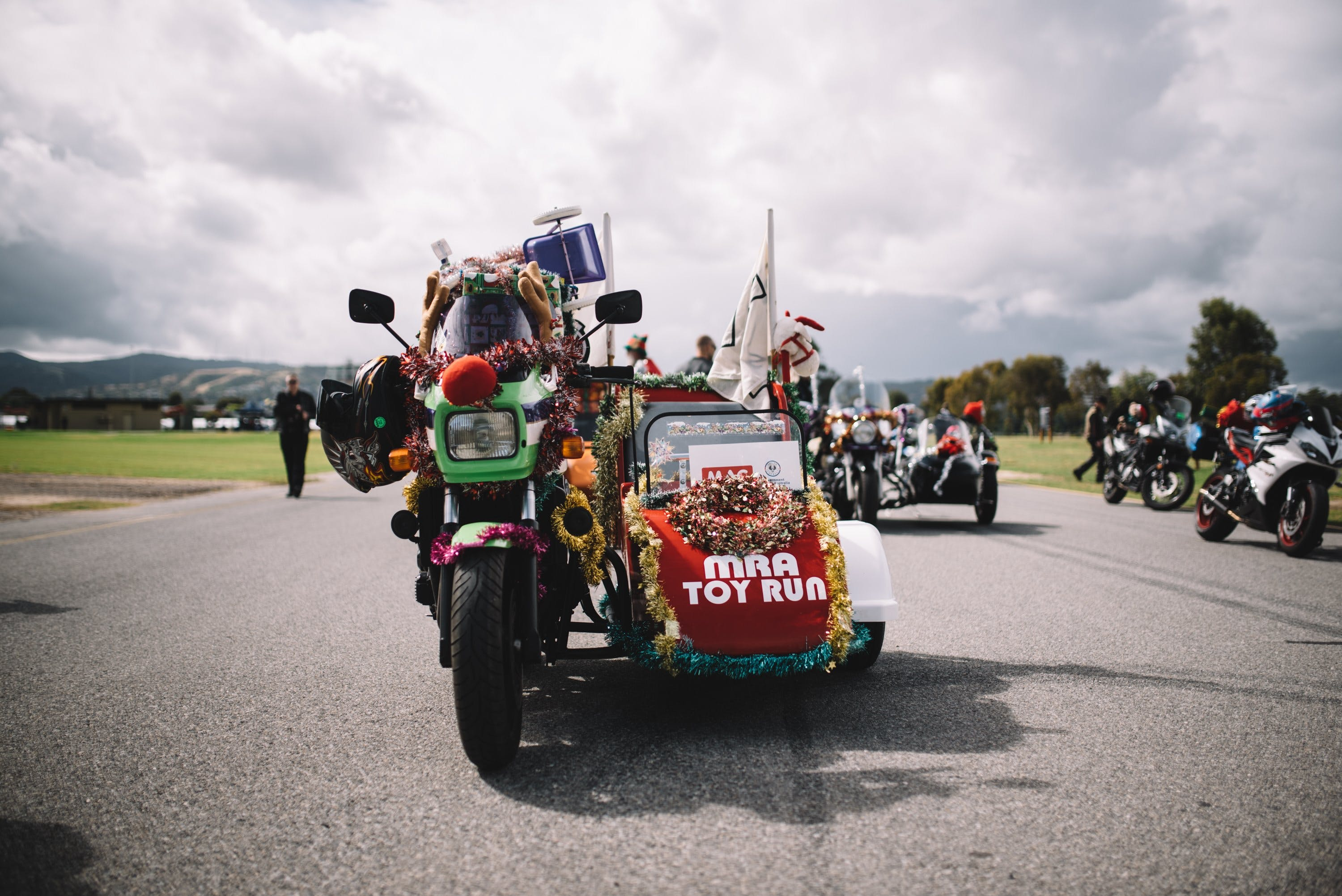 Motorcycle Riders' Association of South Australia Toy Run - Yarra Valley Accommodation