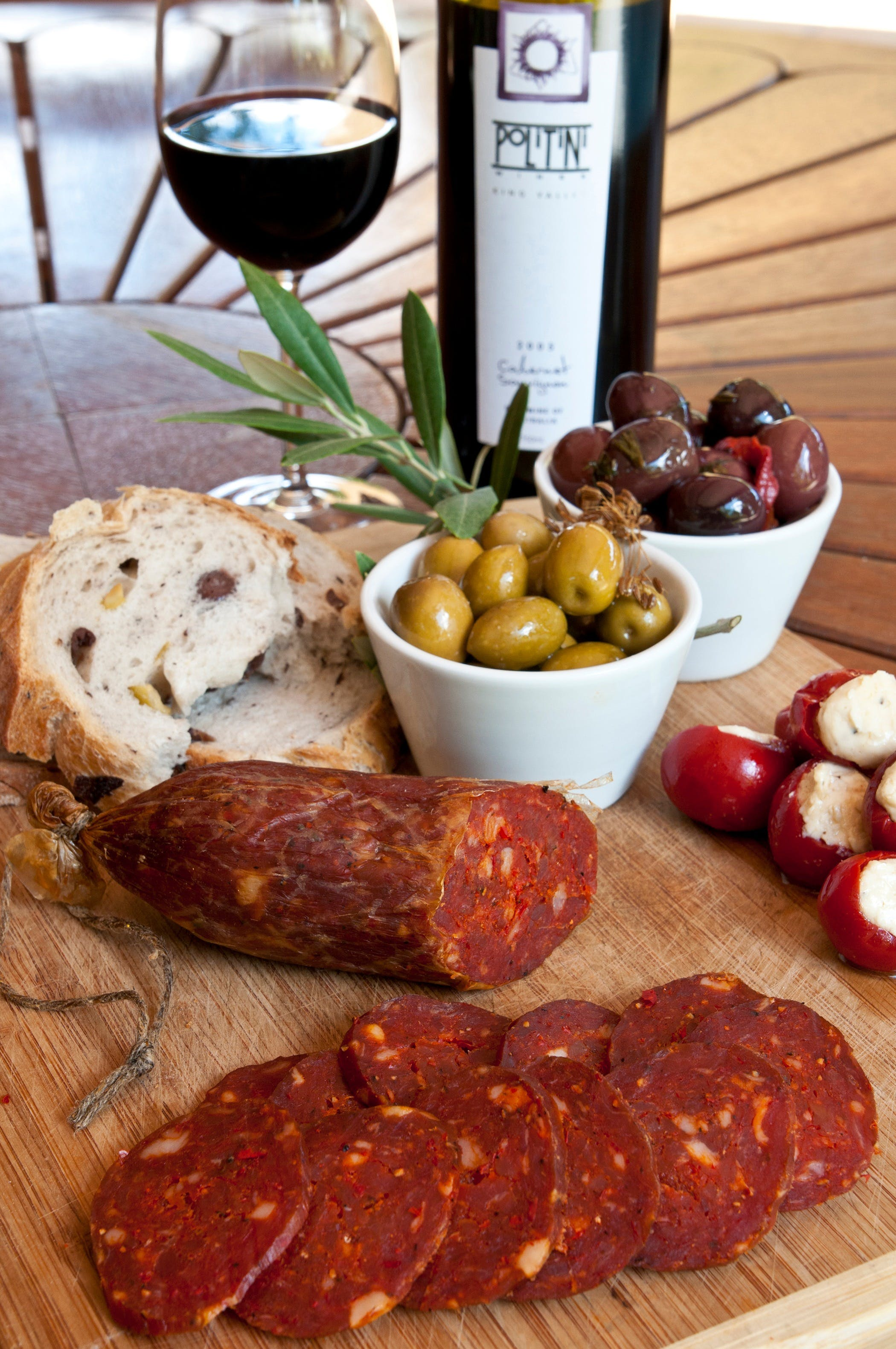 Salami and Salsicce Making classes at Politini Wines - Yarra Valley Accommodation